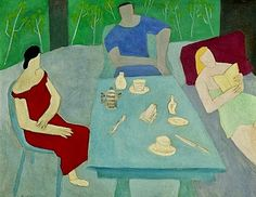 Poetry After Breakfast - Milton Avery