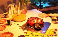 ladybug-cake! Mooncake, Ladybug, Table Lamp, Design, Home Decor, Lady Bug, Homemade Home Decor, Table Lamps