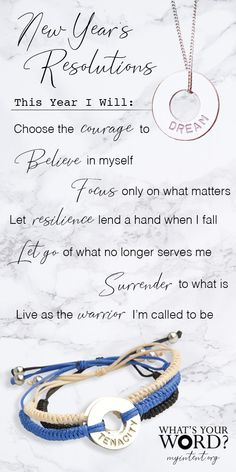 ✨A Mindful New Year's Activity!✨Ask your loved ones for their WORD of intention. Gift them a handstamped bracelet as a daily reminder of their hopes, dreams, or what matters most. As seen on the Today Show and O, The Oprah Magazine. Quotes To Live By, Me Quotes, Motivational Quotes, Meaningful Conversations, Inspirational Thoughts, Magazine Shop, Inspire Me, Wise Words, Positive Quotes