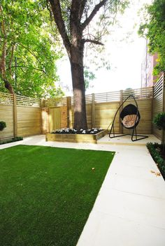 Contemporary #garden #design using Jacksons Fencing #garden #fence #design #home