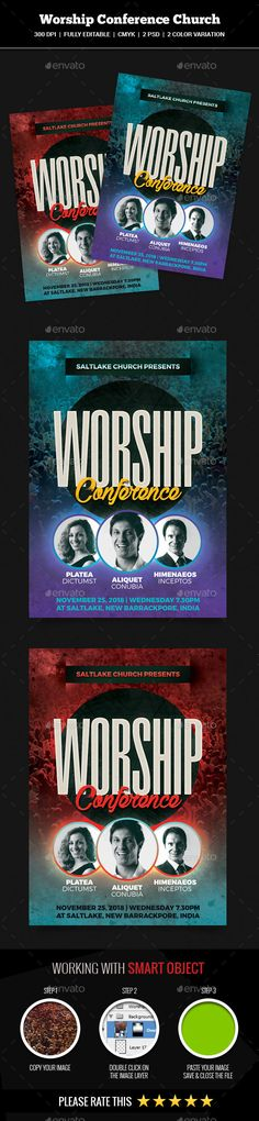 Event Summit Conference Flyer Photoshop, Flyer template and Template - conference flyer template