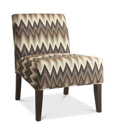 Sasha Chevron Accent Chair | HOM Furniture | Furniture Stores In Minneapolis  Minnesota U0026 Midwest