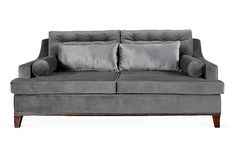 Bravo Sofa, Gray on OneKingsLane.com