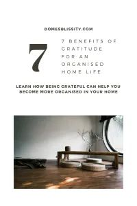 7 Benefits of Gratitude for an Organised Home Life - Domesblissity Showing Gratitude, Organising Ideas, I Am Overwhelmed, How To Improve Relationship, Hope For The Future, Rich Life, Thought Process, Organize Your Life, Its A Wonderful Life