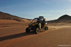rouler sur un mer de sable...