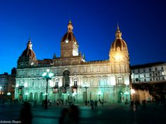 Palacio del ayuntamiento. A Coruña