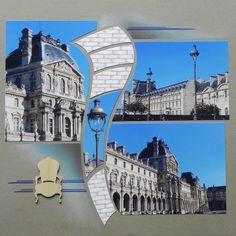 Le Louvre, gabarit Nébuleuse easy scrap