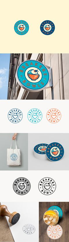 Discover recipes, home ideas, style inspiration and other ideas to try. Brand Packaging, Packaging Design, Branding Design, Identity Branding, Food Logo Design, Logo Food, Logo Inspiration, Bowl Logo, Logos