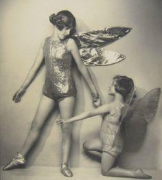 Fairies - By Tunbridge of London - c. 1920s - (Via)