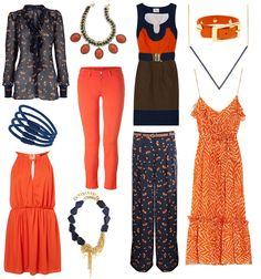 auburn gameday outfits orange and blue war eagle