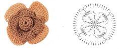 Схемы двухярусных цветов