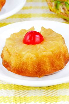 Pineapple Upside Down Cupcakes Recipe with Brown Sugar