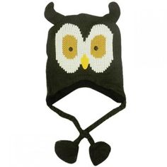 Cute Kids Owl Knitted Hat - £4.99