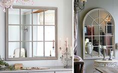 Espejos ventanal para decorar casas - Decofilia.com