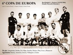 Real Madrid Team, Real Madrid History, Manchester United, Santiago Bernabeu, European Cup, Centenario, Uefa Champions League, Football, Poster