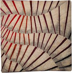 Betty Busby - textile artist - piece & quilt sections, then put together with batting for 3-D