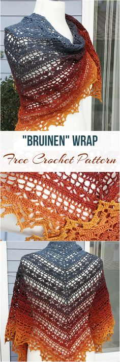 Bruinen Wrap Free Crochet Pattern