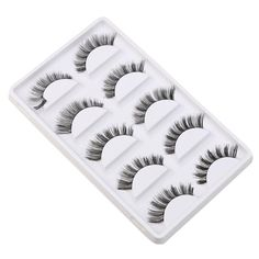 1 Pairs Heart-shaped Packaging Transparent Stems Fake Lashes Eyelashes+glue Assembly False Eyelashes Stage Makeup Lashes False Eyelashes