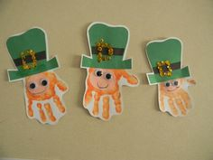 Little Leprechaun hand craft #littlehandsbigplans