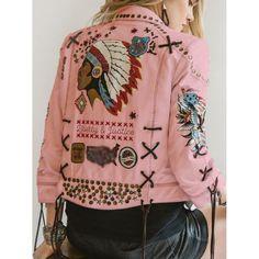 Camisa Hippie, Denim Mantel, Pants For Women, Jackets For Women, Vintage Leather Jacket, Leather Jackets, Estilo Retro, Boho Fashion, Fashion Design