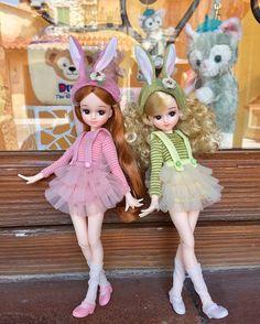 ハッピーイースターっ♡    #ハッピーイースター   #昨日の  #ディズニーシー #東京ディズニーシー   #シンボルリカちゃん   #クリスマスリカちゃん  #リカちゃん #リカちゃんキャッスル