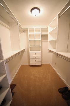 My new closet by S.O.S Storage Solutions