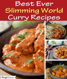 The BEST EVER Slimming World Syn Free Curry Recipes. Every single one of them in… The BEST EVER Slimming World Syn Free Curry Recipes. Every single one of them in and delicious Best Slow Cooker, Slow Cooker Recipes, Crockpot Recipes, Chicken Recipes, Healthy Recipes, Healthy Options, Delicious Recipes, Free Recipes, Slimming World Curry