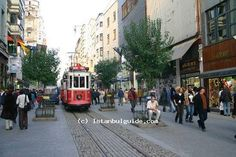 Visit the Istiklal Street - Istanbul City Guide