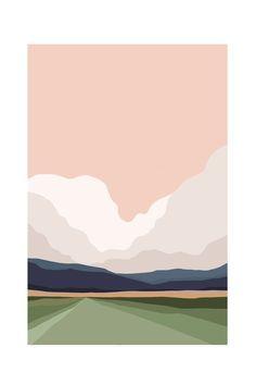 Minimalist art 517984394646768992 - Source by biscotine Painting Inspiration, Art Inspo, Logo Inspiration, Minimal Art, Arte Indie, Kunst Inspo, Guache, Diy Art, Watercolor Art