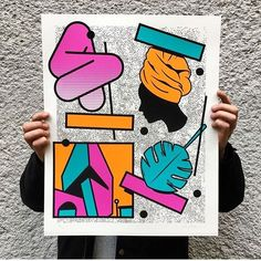I still have a few of my 'memory bank' prints left! #this pront was done whilst in Vienna Austria doing a month long residency at the end of last year.  40 x 50 cm  4 colour screen print by PERFEKT PRINTS -  Edition of 36 on Munken Pure 300gsm paper  Signed and numbered  penetpaper.bigcartel.com by mrpenfold
