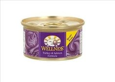 Wellness Turkey and Salmon Formula Can Cat * Click on the image for additional details. (This is an affiliate link and I receive a commission for the sales) #CatCare