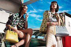 Sofisticação em Chamas - Spring/Summer 2012 Prada