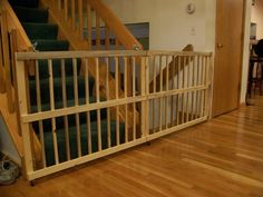 Baby Gates from Beetle Kill Pine