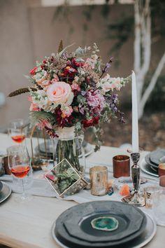 Gems & Geodes Wedding Inspiration