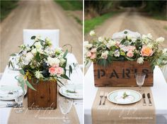 » Blossom and Twine Table Flowers, Anniversary Ideas, Stems, Twine, Blossoms, Table Decorations, Wedding, Home Decor, Birthday Ideas