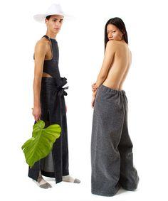 RADD LOUNGE — 【 Today's Pickup item 】VAQUERA - SUPER SLIT PANT *...
