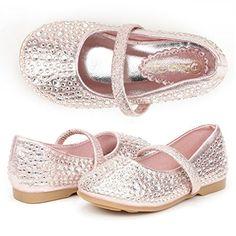 Dream Pairs MUY-SHINE Mary Jane Girls Rhinestone Studded Slip On Ballet Flats Toddler New Pink Size 4 DREAM PAIRS http://www.amazon.com/dp/B014QC0I9U/ref=cm_sw_r_pi_dp_YBvqwb0HHG7V4