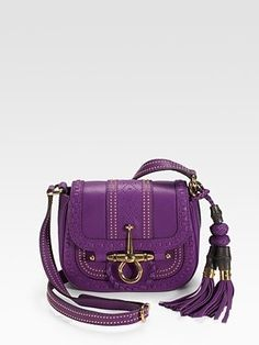 Gucci - Snaffle Bit Small Flap Leather Shoulder Bag - Saks.com - StyleSays