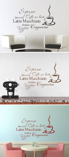Vor dem ersten Kaffee Klappe halten Kaffee - wandtattoos küche kaffee