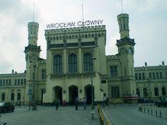 Wroclaw// Wroclaw Glowny train station//  Wilhelm…
