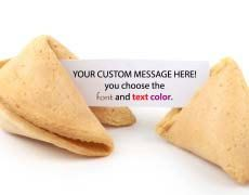 50 Customized Fortune Cookies You Choose by fortunecookieplanet