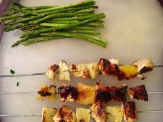 Grilled Chicken with fresh pineapple & citrus