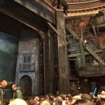 Les Miserables set inside the Imperial Theater, NYC