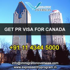 Get easy PR Canada Visa at Immigration Overseas. Contact us today!