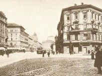 1900-as évek eleje, Váci körút (Bajcsy-Zsilinszky út), 4. (1950-től 5.) kerület, és 6. kerület Tarot, Taj Mahal, Snow, Building, Travel, Outdoor, Outdoors, Viajes, Buildings
