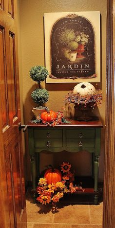 Southern Seazons: Little bits of Fall around the house
