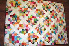 crossroads scrap quilt