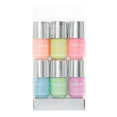 Shop Claire's for the latest trends in jewelry & accessories for girls, teens, & tweens. Find must-have hair accessories, stylish beauty products & more. Neon Nail Polish, Nail Polish Sets, Neon Nails, Pastel Nails, Makeup Kit For Kids, Kids Makeup, Cute Makeup, Cute Nails, Pretty Nails
