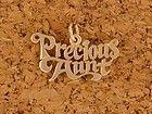 James Avery 14KY Gold Precious Aunt Charm Pendant