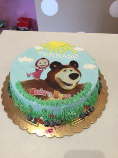 torta Masha e Orso 1